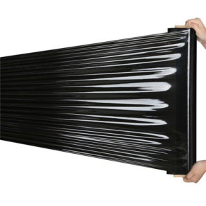 black pallet protection stretch film