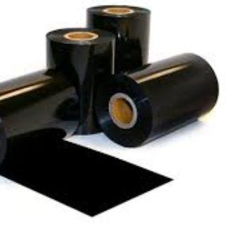 black plastic rolls
