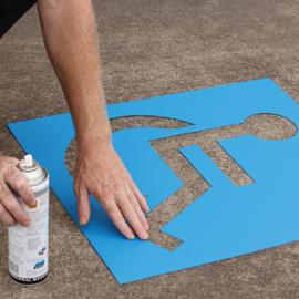 dymark safety stencil